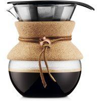 Bodum Pour Over Kork med Filter 0,5 l