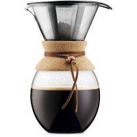 Bodum Pour Over Kork med Filter 1,5 l