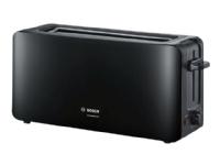 Bosch ComfortLine TAT6A003 - Brødrister - 2 skive - 1 Spor - svart