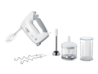 Bosch ErgoMixx MFQ36480 - Håndmikser - 450 W - hvit/grå