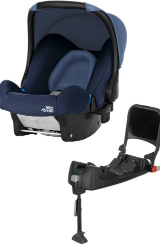 Britax Baby-Safe Babybilstol inkl. Base, Moonlight Blue