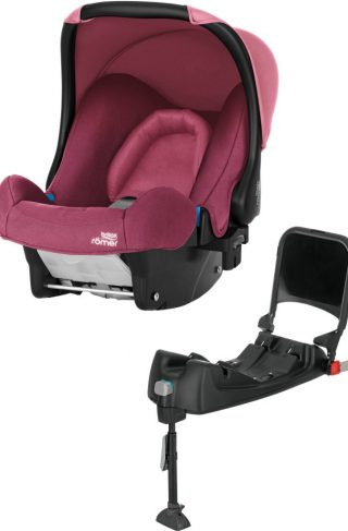 Britax baby-Safe Babybilstol inkl. Base, Wine Rose