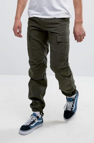 Carhartt WIP Aviation Trousers-Green