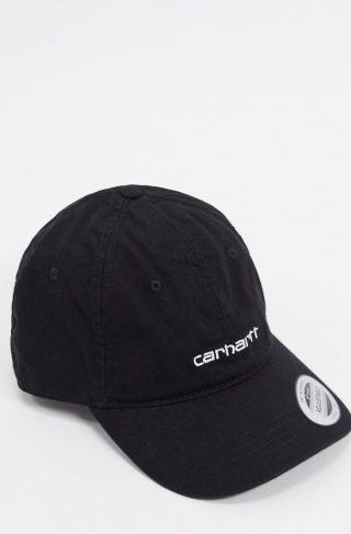 Carhartt WIP Canvas Coach cap in black