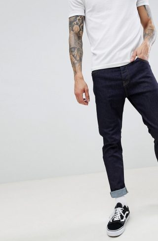 Carhartt WIP Coast Pant In Regular Tapered Fit In Blue