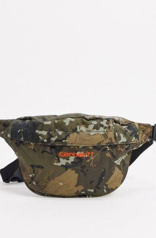 Carhartt WIP Payton hip bag in camo-Green