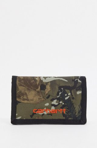 Carhartt WIP Payton wallet in camo-Green