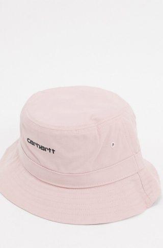Carhartt WIP Script bucket hat in pink