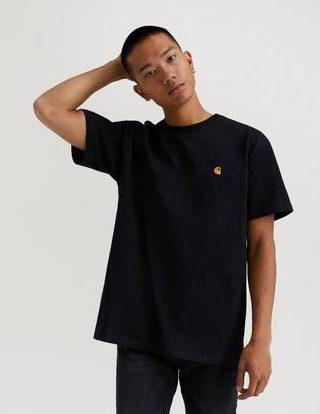 Carhartt WIP T-shirt S/S Chase T-Shirt Svart