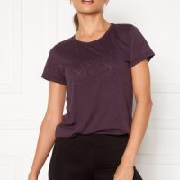 Casall Texture Tee 125 Revive Purple 38