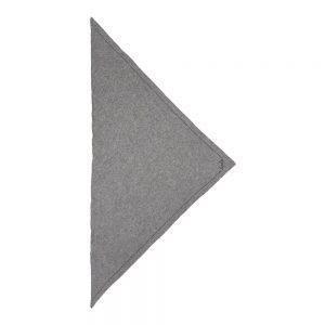 Cashmere Scarf Trinagle Solid Logo
