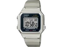Casio B650WD-1AEF, Armbåndsur, Unisex, Sølv, Rustfritt stål, Sølv, Akryl