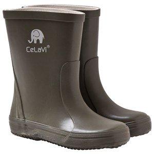 Celavi Basic Wellies Solid Army 32 EU