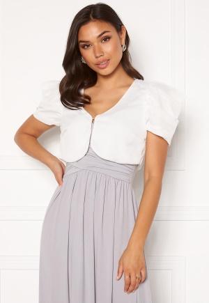 Chiara Forthi Candy puff sleeve bolero White XS