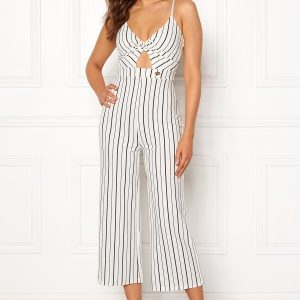 Chiara Forthi Dunia jumpsuit Offwhite / Black L