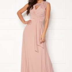 Chiara Forthi Genevra Gown Dusty pink 36