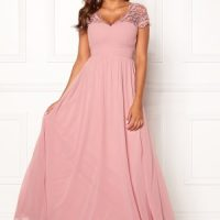 Chiara Forthi Leighann Gown Pink 36