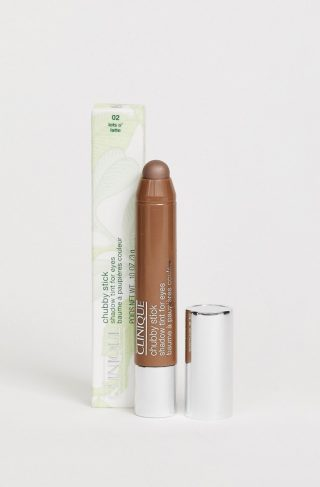 Clinique Chubby Stick Shadow Tint For Eyes -Lots O'Latte-Brown