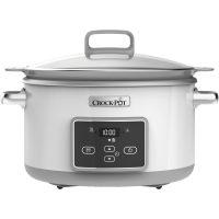 Crock-Pot Slowcooker One Pot Cooking 5,0 l Induksjon Duraceramic Timer Hvit