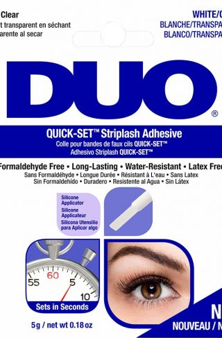 DUO Quick-set Brush-on Adhesive Clear, 5 g Andrea Løsvipper