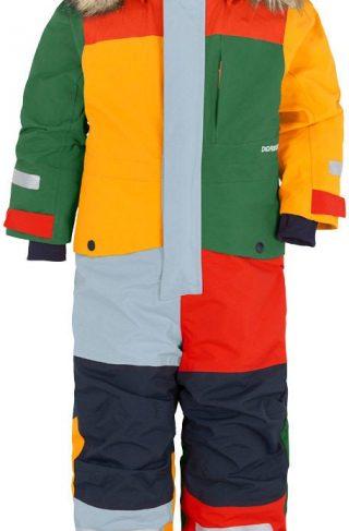 Didriksons Björnen Vinterdress, Multicolour, 100