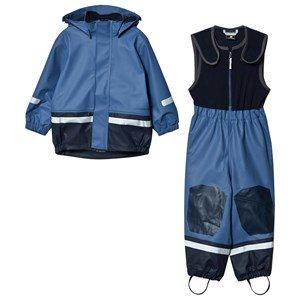 Didriksons Boardman Kids Regnsett Fjord Blue 140 cm (9-10 år)