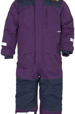 Didriksons Polarbjörnen Vinterdress, Berry Purple 130