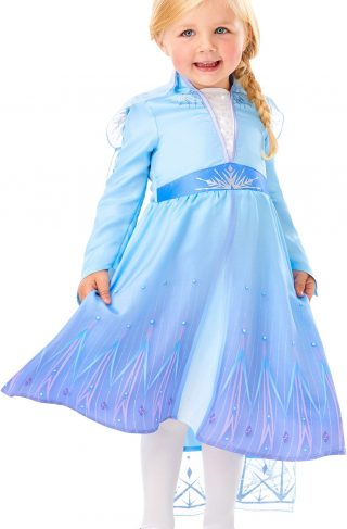 Disney Frozen Kostyme Elsa 5-6 år