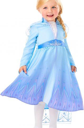 Disney Frozen Kostyme Elsa 7-8 år