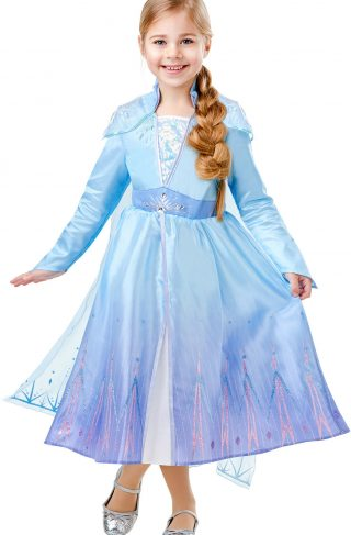 Disney Frozen Kostyme Elsa Deluxe 7-8 år