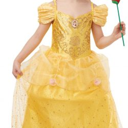 Disney Princess Kostyme Belle 7-8 år
