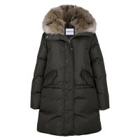 Down Parka Real Fur Ytterjakker