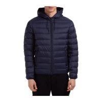 Down jacket blouson hood