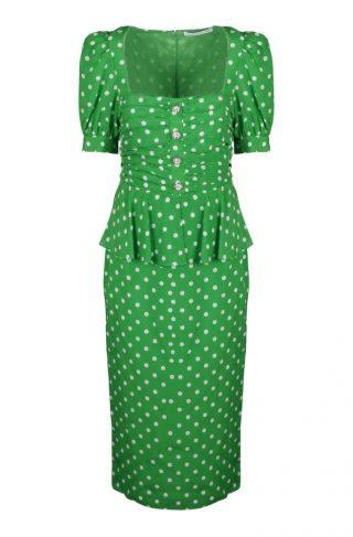 Dress With Peplum