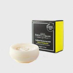 Edwin Jagger Shave Soap Refill Limes & Pomegranate Grå