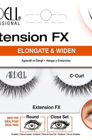 Extension FX C Curl, Ardell Løsvipper