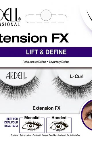 Extension FX L Curl, Ardell Løsvipper