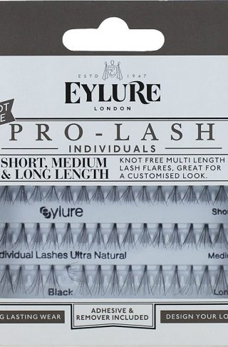 Eylure Pro-Lash Individuals, Short Medium & Long Length Ultra Natural, Eylure Løsvipper