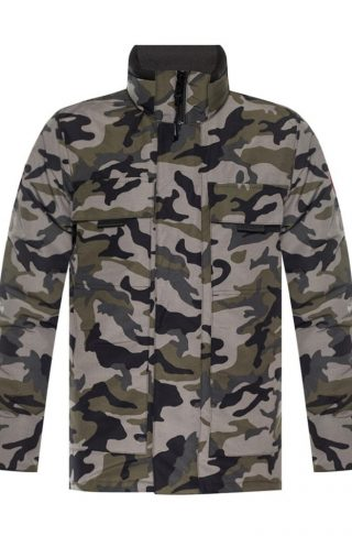'Forester' camo down jacket