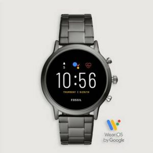 Fossil Klokke The Carlyle Smartwatch Grå