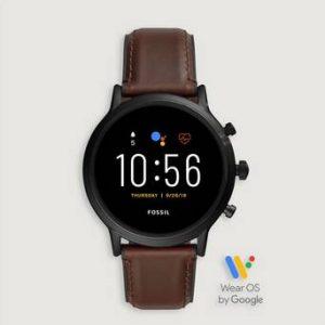 Fossil Klokke The Carlyle Smartwatch Svart