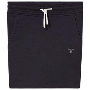 GANT Navy Small Shield Logo Sweat Skirt 146-152cm (11-12 years)