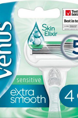 Gillette Venus Extra Smooth Sensitive, Gillette Barberhøvler & Barberblad