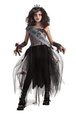 Goth Prom Queen Kostyme Barn Medium