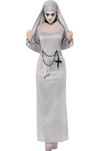 Gotisk Nonne Kostyme Small