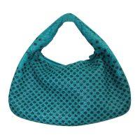Green Classic Veneta Bag