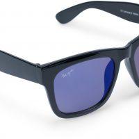 Haga Eyewear Florida Solbriller, Svart/Blå