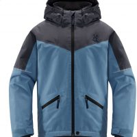 Haglöfs Niva Skijakke, Silver Blue/Dense Blue 140