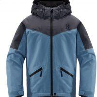 Haglöfs Niva Skijakke, Silver Blue/Dense Blue 164