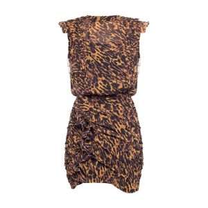 Hali ruffle dress
